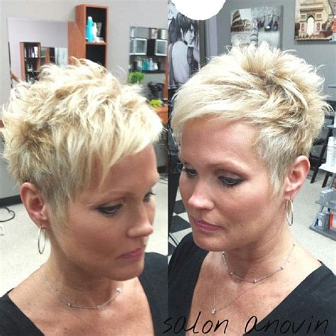 how to style super short blond hair 2189 best images about short and chic on pinterest short