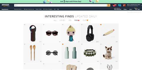 interesting finds amazon amazon interesting finds new pinterest style wishlist feature
