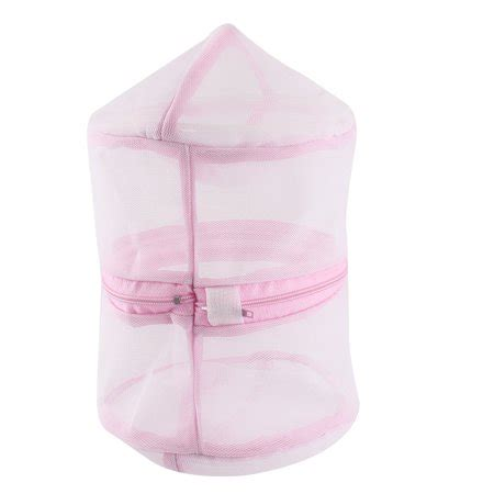 Laundry Bra Pink laundry bra clothes mesh wash basket bag