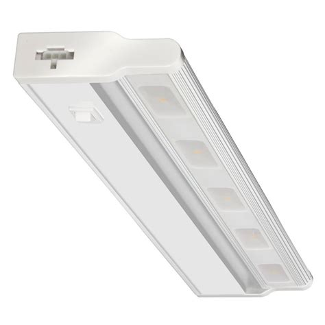 Ge 18 In Led White Under Cabinet Light 12689 The Home Depot The Cabinet Lighting Led