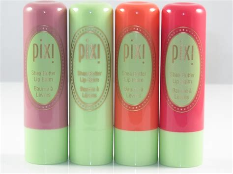 Lip Balm Pixy pixi shea butter balm review swatches musings of a muse