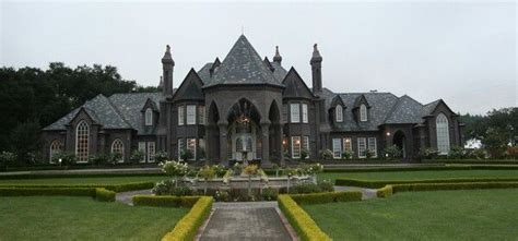 Modern Exterior Homes by Gothic Mansion Celestial Dream Home Pinterest Love