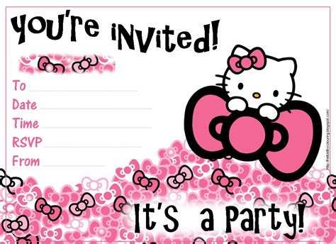 hello kitty printable invitation template pretty practical mom free printable hello kitty invitations