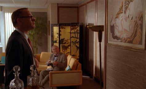 The Mad Men Art Of Japan In Bertram Cooper S Office | the mad men art of japan in bertram cooper s office