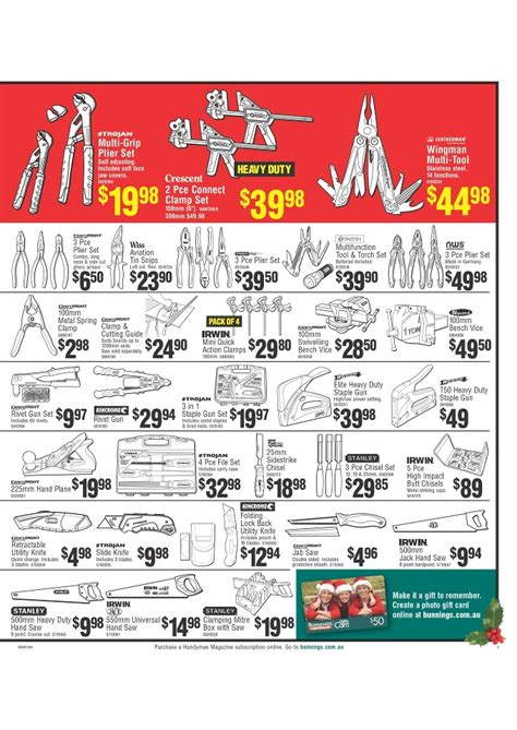 bunnings warehouse christmas catalogue gifts 2013 page 5