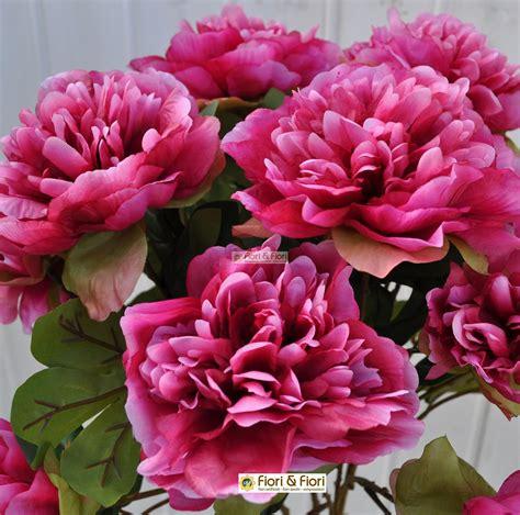 peonia fiori fiori artificiali peonia tudor in tessuto lavabile per uso