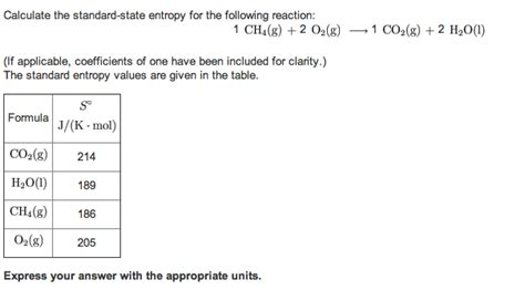 Entropy Change Table Entropy Change Table Standard Molar Entropy Table Pictures To Pin On Pinsdaddy Entropylesson5
