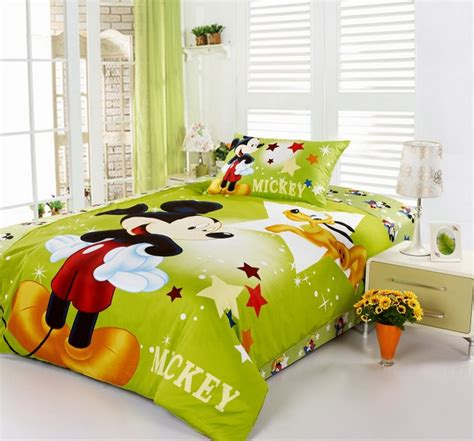 Mickey Bed Set Gorgeous Mickey Mouse Bedroom Set On Mickey And Minnie Mouse Bedding Set Mickey
