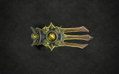 Sa Emblem Katana armes prodigieuses de legion le moine wow