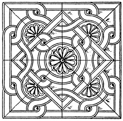 byzantine square panel clipart etc