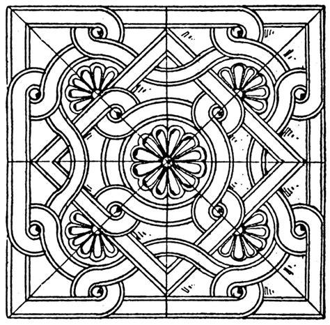 byzantine square panel clipart etc
