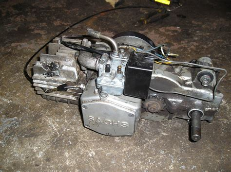fs sachs   engine moped army