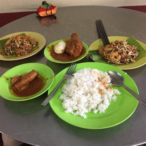 nasi kandar wah  cafe indian cuisine  ayer itam
