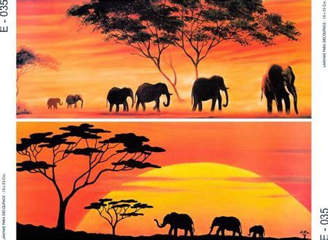 cuadros africa laminas decoupage africa pesquisa do cajitas