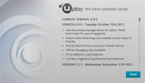 how to update uplay games the new update uplay pc 4 0 is live forums