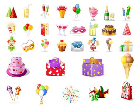 clipart compleanno gratis birthday theme icon vector vector birthday vector icons