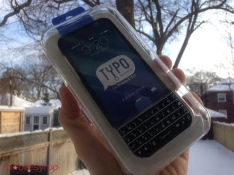 Iphone 5s Giveaway 2014 - contest typo keyboard for the iphone 5 5s giveaway mobilesyrup