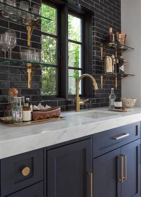black countertops with tile backsplashes for kitchens 2017 2018 best cars reviews 33 masculine kitchen furniture ideas that catch an eye