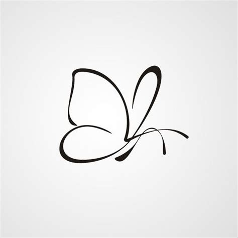 butterfly tattoo no outline nice outline butterfly tattoo design