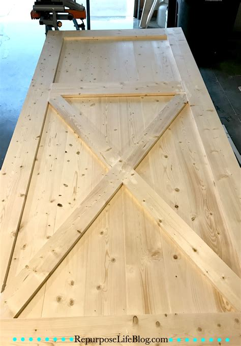 How To Make Your Own Sliding Barn Door Repurpose Life How To Make Your Own Barn Door