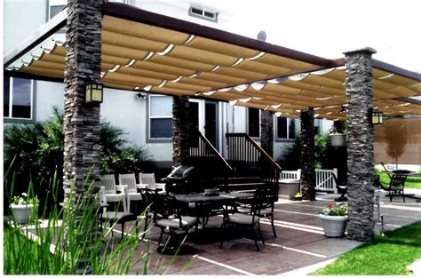 Backyard Awning by 20 Stylish Outdoor Canopies For The Home