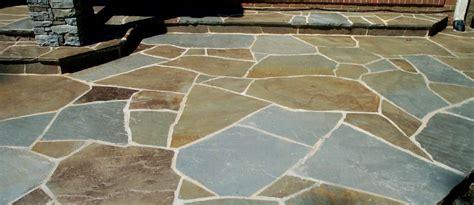 Blue Flagstone Patio by Pennsylvania Bluestone Irregular Flagstone Color