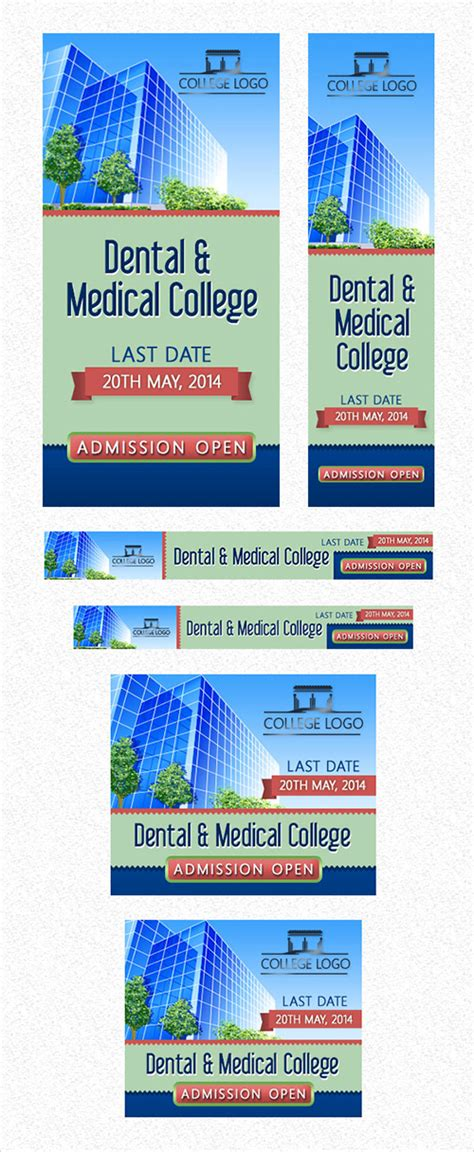 college banner template 22 free and fully editable web banner templates psd