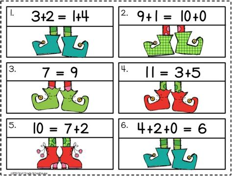 christmas math centers first grade math centers grade