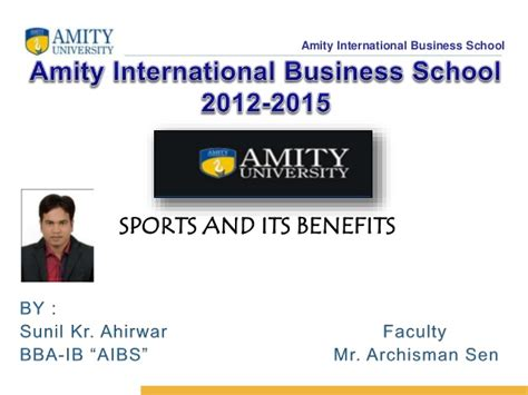 Benefits Of International Business Mba by Sports And Its Benefits