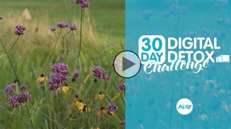 30 Day Digital Detox by Day 28 30 Day Digital Detox Challenge Digital Detox