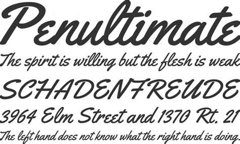 yellowtail font free font yellowtail by astigmatic font squirrel