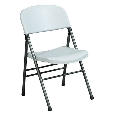 Folding Chair by Bridgeport Used Plastic Folding Chair White National