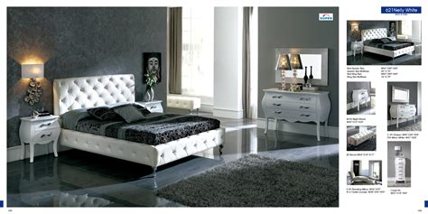 Modern White Bedroom Set by White Modern Bedroom Furniture Set Raya Furniture