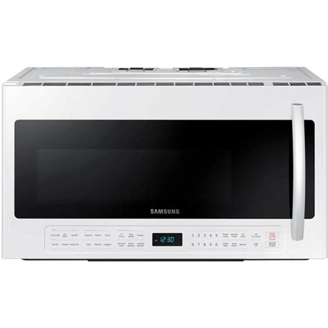 samsung microwave ovens 30 in w 2 1 cu ft the