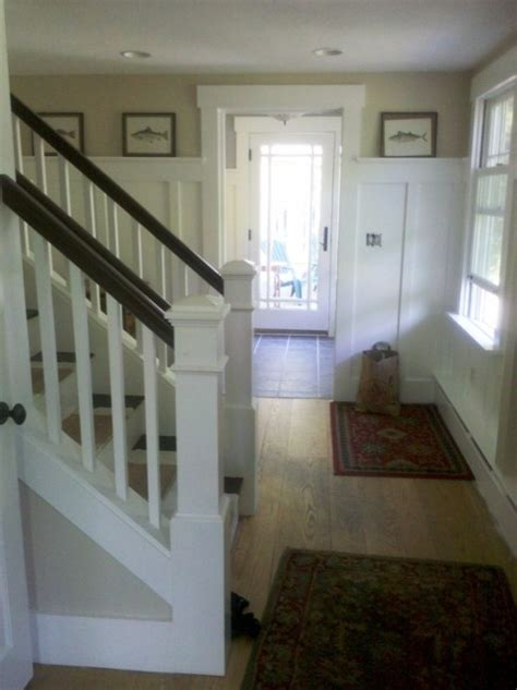 Open Up A Staircase And Create A Fabulous Mudroom