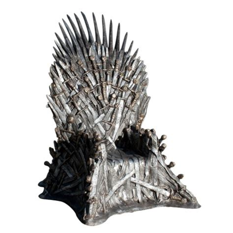 size replica iron throne from of thrones collider