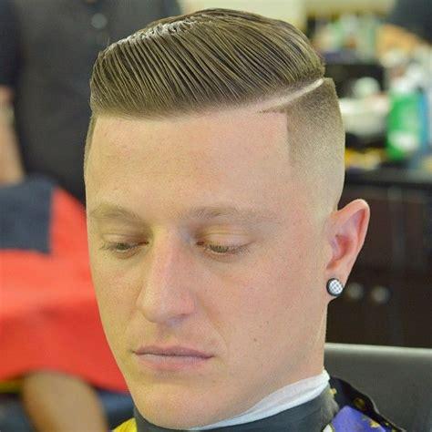 mens hairstyles hard part zeke the barber zeke the barber instagram profile