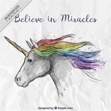 imágenes de unicornios con frases unicornio dibujado a mano con una bonita frase descargar