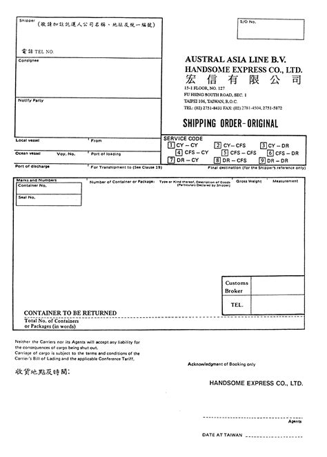 Invoice Letter Of Indemnity pin letter of indemnity delivery without bill lading on