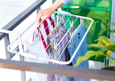 Antonius Drying Rack by Make The Most Of A Small Balcony With The Antonius Drying