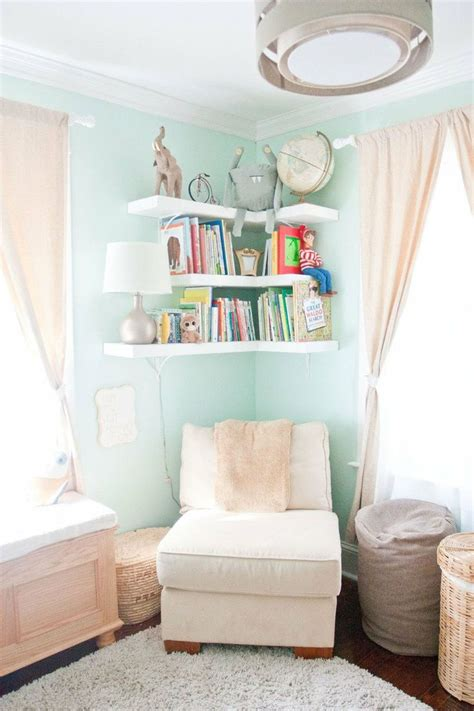 Ikea Yellow Bookcase Clever Ways In Which A Corner Bookshelf Can Fill In The