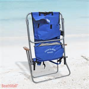 Cooler Pouch Chair by Deluxe 5 Position Layflat Backpack Chair W Insulated