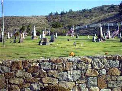 San Luis Obispo Birth Records Cayucos Morro Bay Cemetery Mor