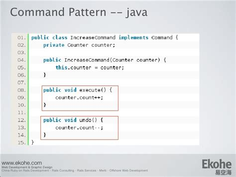 Pattern In Java Logic | design pattern from java to ruby