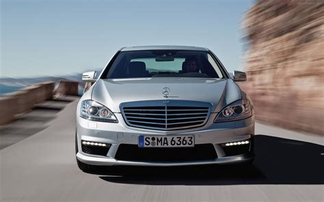 2010 mercedes s63 amg widescreen car