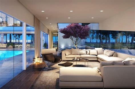 modern living rooms modern living room with high ceiling carpet zillow