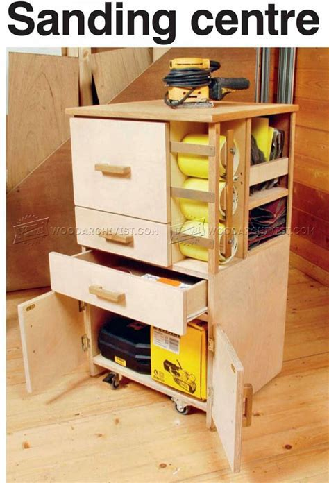 Mobile Sanding Station Plans ? WoodArchivist
