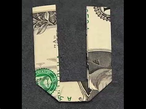 money origami letters 370 best images about folding money on dollar