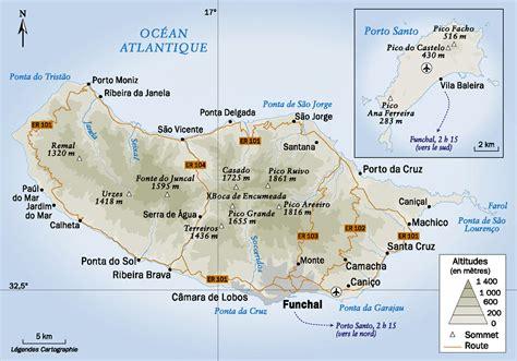 carte mad 232 re carte du monde - 0004488997 Carte Touristique Madeira En