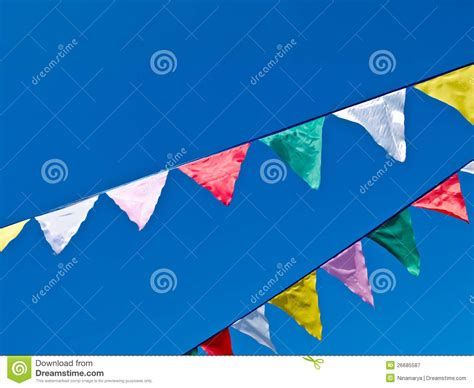 colored flags colored flags royalty free stock photography image 26685587